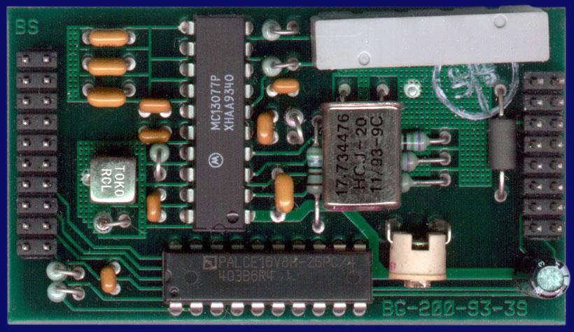 MacroSystem V-Code - Encoder module, front side