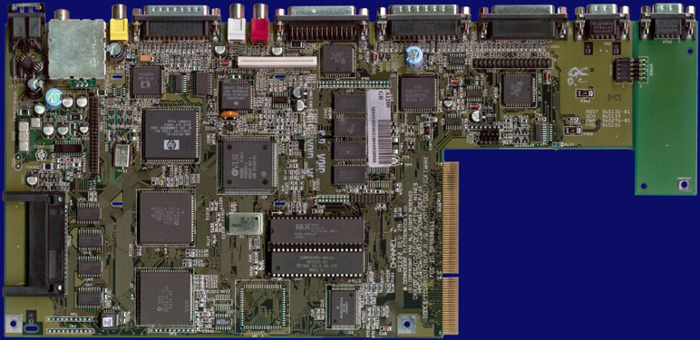 Commodore Amiga 1200 - Rev 2B, front side
