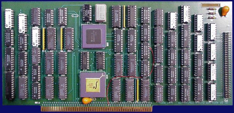 unidentified A4000 I/O cards - DPM output controller, front side