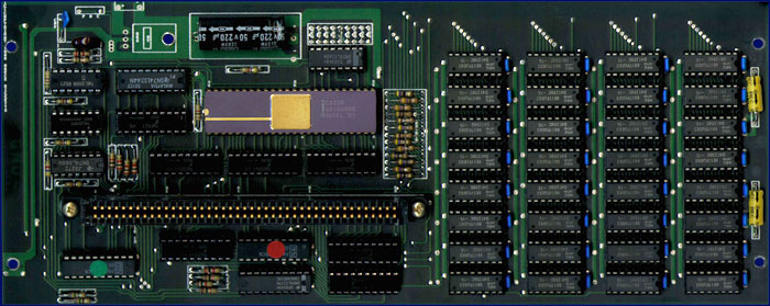 CardCo / C-Ltd. aMEGA - PCB, front side