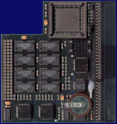 Phase 5 Digital Products Blizzard 1200 / 4 - Board with clock, front side