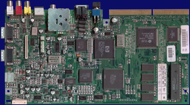 Commodore CD32 - Rev 3 motherboard, front side
