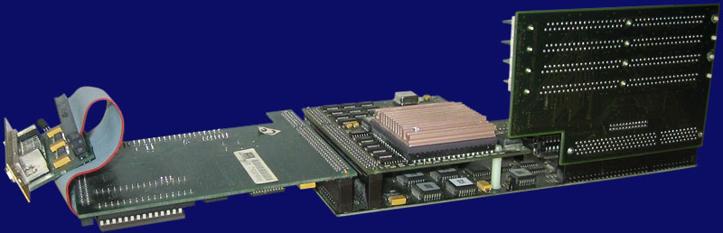 Phase 5 Digital Products CyberStorm - Assembled expansion with CyberSCSI, back side
