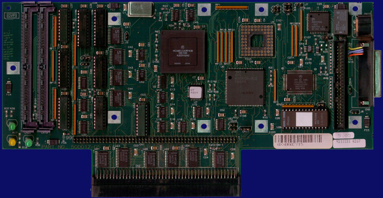 Great Valley Products A530 - PCB, front side