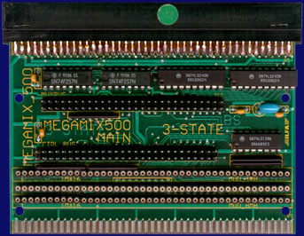 3-State MegaMix 500 - Main board, front side