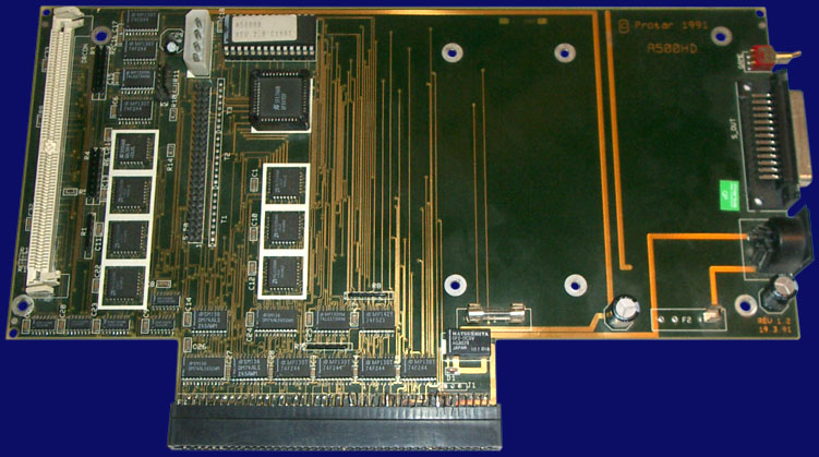 Protar A500 HD - Board, front side