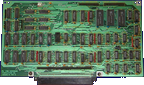 Commodore A1060 - Interface board front side