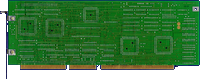 Commodore A2286AT - Main board back side