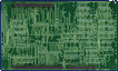 Commodore A2286AT - Daughterboard back side