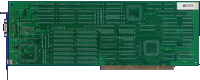 Commodore A2410 -  back side