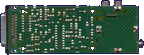 Commodore A520 - PCB back side