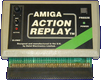 Datel Electronics Action Replay Mk I, II & III - Mk I, A500 version front side