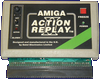 Datel Electronics Action Replay Mk I, II & III - Mk II, A500 version front side