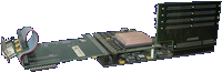 Phase 5 Digital Products CyberStorm - Assembled expansion with CyberSCSI  back side