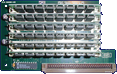 Great Valley Products T-Rex (G-Force 040) - Memory module  front side