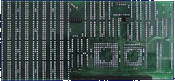 Kupke Golem 030 Turbo (A500) - Board back side