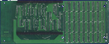 Kupke Golem SCSI II (A500) - Memory daughterboard back side