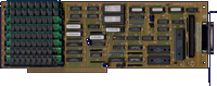 Great Valley Products Impact A2000-SCSI+8 -  front side