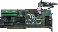 X-Pert Computer Services / Prodev X-Calibur - Merlin with X-Calibur  front side