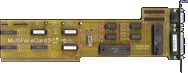BSC / Alfa Data MultiFaceCard 3 -  front side