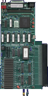 BSC / Alfa Data Oktagon 500 & 508 - Board front side