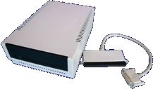 Megatronic OMTI Adapter (A500/A1000) - Megatronic OMTI Adapter - Interface and Hard disk front side