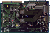 Elsat ProModule (Shuttle) - Board back side
