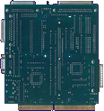 Paravision / Microbotics SX-1 - Main board back side