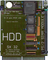 DCE SX 32 Mk1 - Main board front side