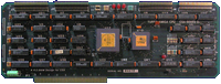 Computer System Associates Turbo Amiga CPU (A2000) - CPU card Rev D front side