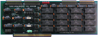 Computer System Associates Turbo Amiga CPU (A2000) - SRAM card front side