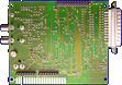Rombo Productions Vidi Amiga 12 RT / 24 RT - Main board back side