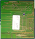 Rombo Productions Vidi Amiga 12 RT / 24 RT - RAM board back side