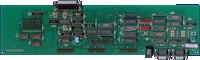 Commodore Wraptest / A1000 Diagnostic Board - Main board front side