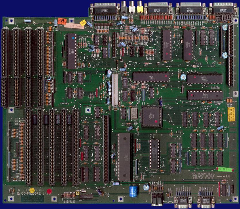 Amiga Hardware Database - Photo Gallery of Commodore Amiga 2000