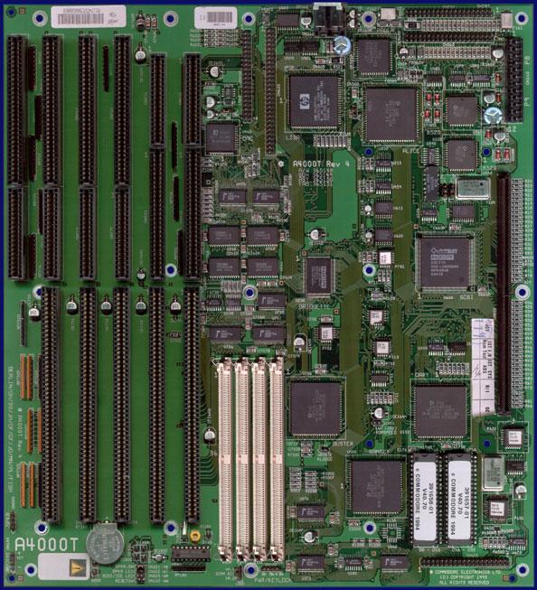 Amiga Hardware Database - Photo Gallery of Commodore Amiga 4000T